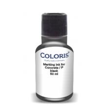 Barva COLORIS CONCRETE P černá pigmentovaná (01), 50 g